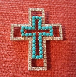 Jewelry - Sterling triple cross